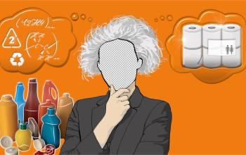 Är du en Einstein på återvunnen plast?