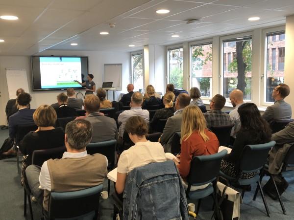 Workshop om Green Deals väckte intresse
